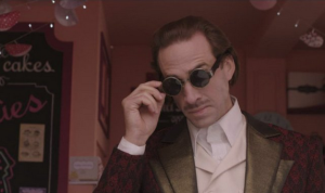 Joseph Fiennes is the villain, in case there were any doubts.