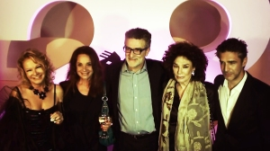 Left to right: Actresses Soledad Silveyra and Ana María Picchio, director Fernando Spiner, actress Graciela Borges and actor Leonardo Sbaraglia.