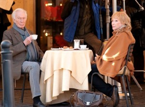 Plummer and MacLaine in another scene set in Rome.