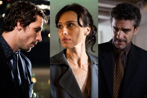 Protagonists Ezequiel (Gonzalo Valenzuela), María Teresa (Ariadna Gil) and Esteban (Leonardo Sbaraglia).
