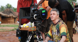 "Director Pablo César, filming ""Shores"" in Benin - 2011."