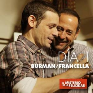 Director Daniel Burman (left) with star Guillermo Francella.