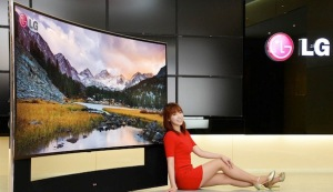 Behold our work on LG's 105-inch Curved Ultra HD TV!