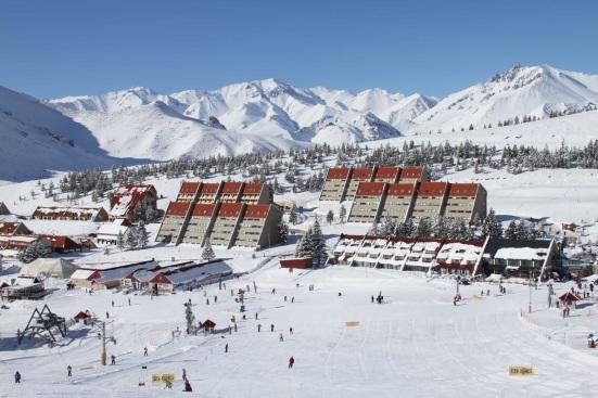 Las Leñas ski resort, Mendoza.